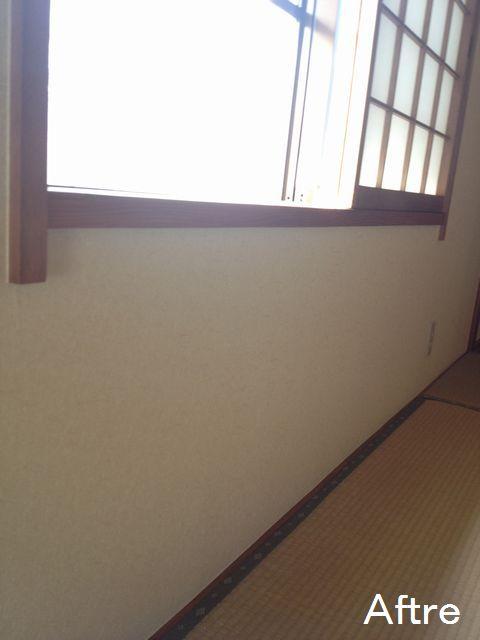 三重県四日市市 T様邸 和室クロス張替え工事